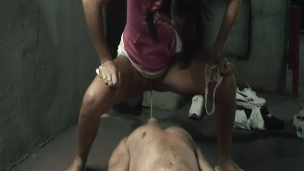 movie update picture -Peeing Slave is Serving his Peeing Ladies